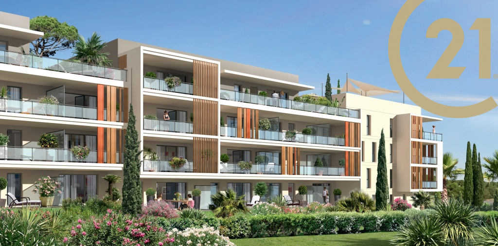 Vente vente frejus villa sur le toit de 107m avec for Appartement avec terrasse sur le toit